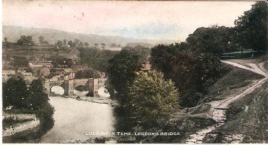 Ludlow, River Teme, Ludford Bridge