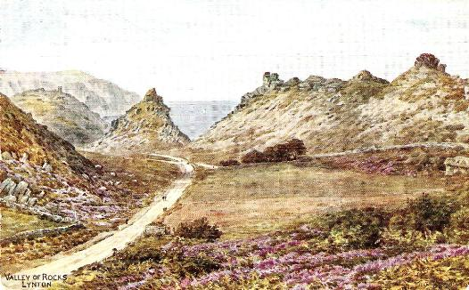 Valley of the Rocks, Lynton