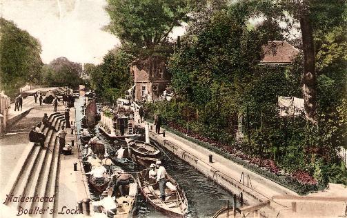 Maidenhead - Boulter's Lock