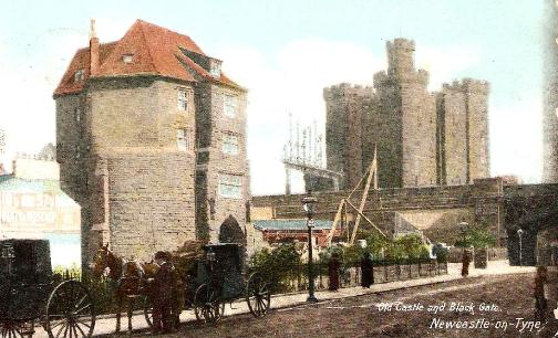 Old Castle and Black Gate, Newcastle