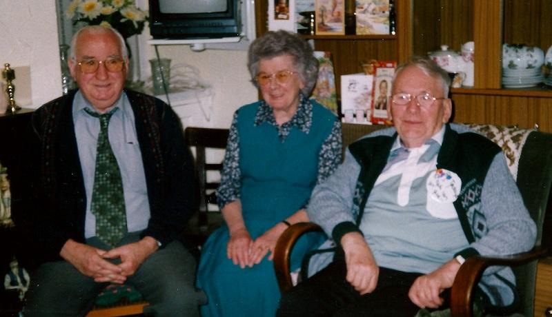 Nora, Gwyn and Tom