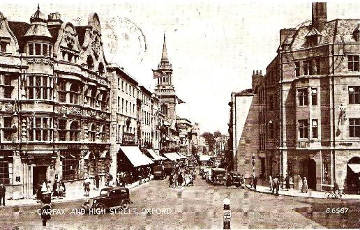 Oxford, Carfax and High Street