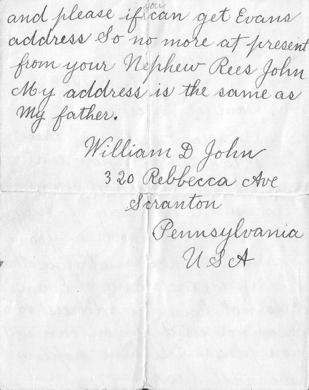 Letter from Scranton