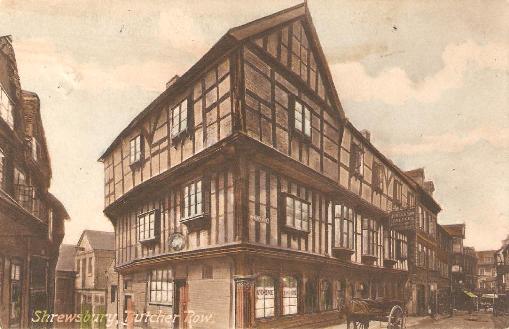 Butcher Row, Shrewsbury