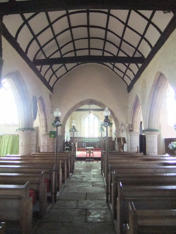 Skenfrith, Church interior
