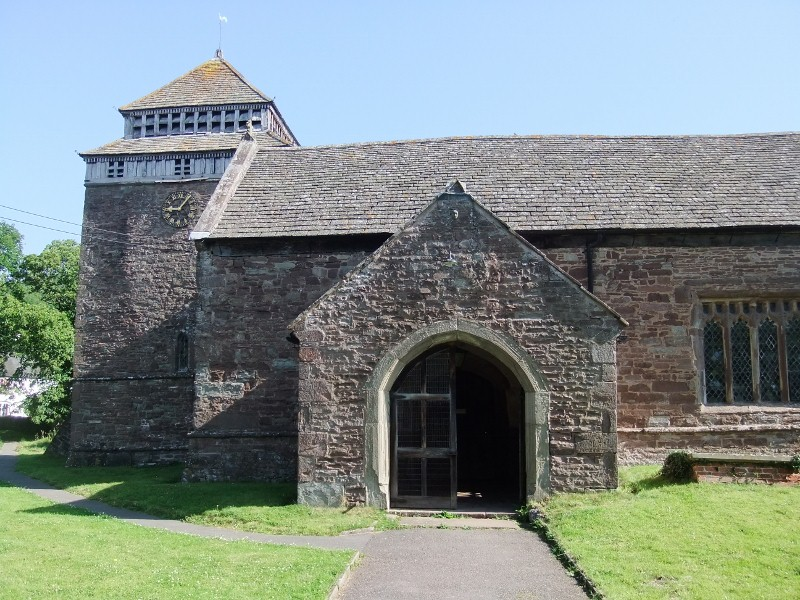 Skenfrith, Church