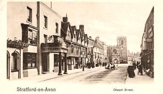Stratford-on-Avon, Chapel Street