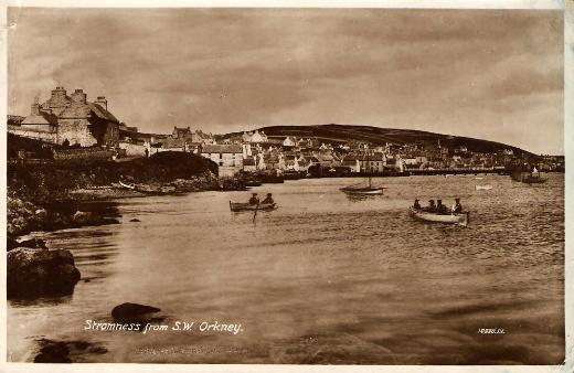 Stromness from South-West Orkney