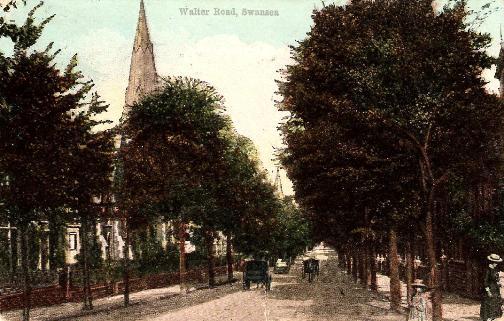 Swansea, Walter Road