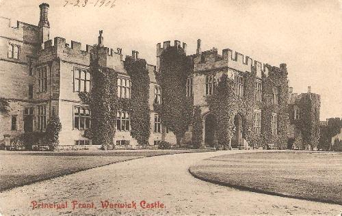 Principal Front, Warwick Castle