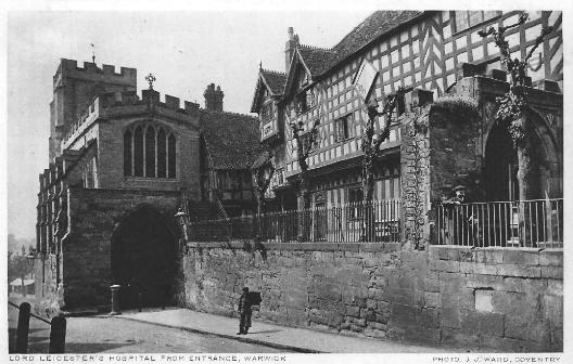Lord Leicester's Hospital, Warwick