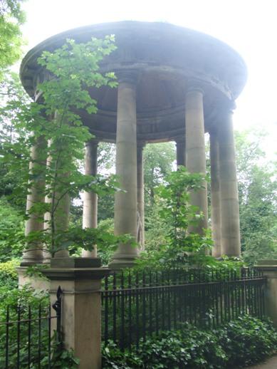 Vegetation on Victorian Monument