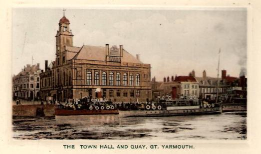 Town Hall and Quay, Great Yarmouth